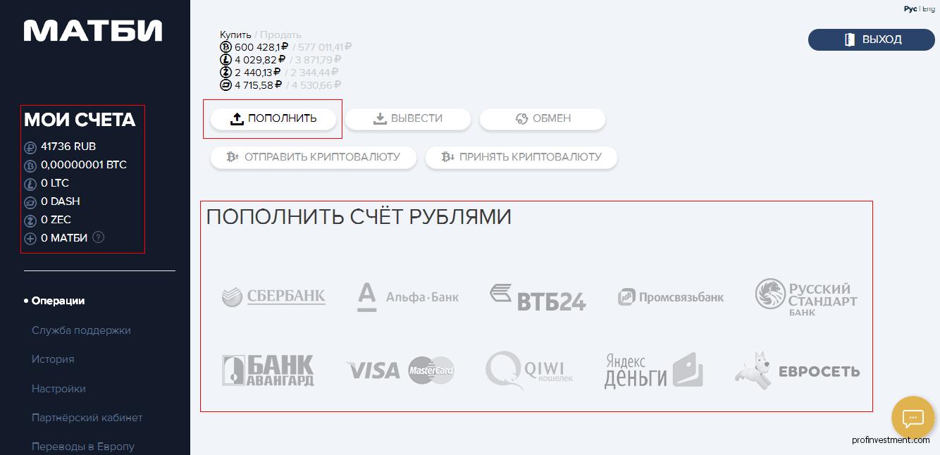 крипта вложить 2021 рубли