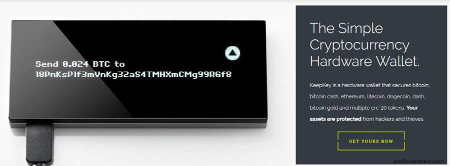 hardware wallet KeepKey