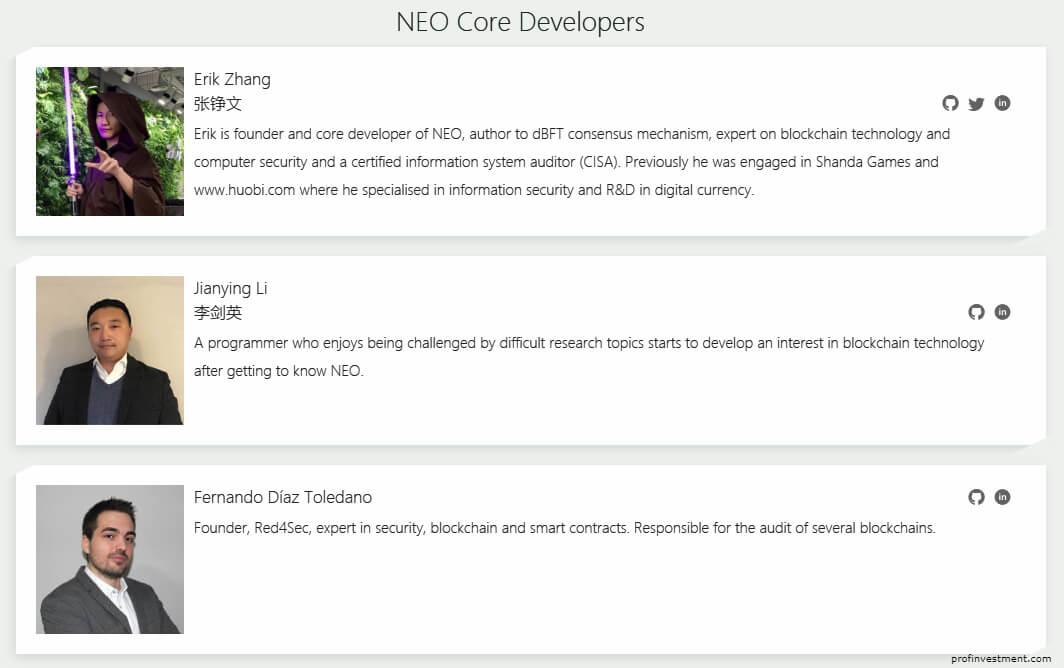 история создания блокчейн проекта neo