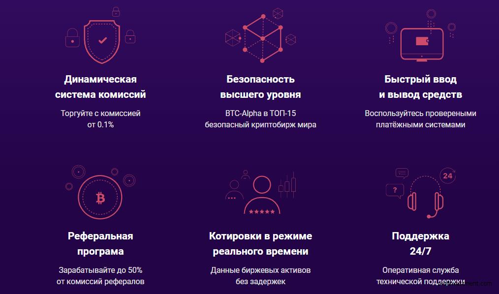 особенности криптобиржи