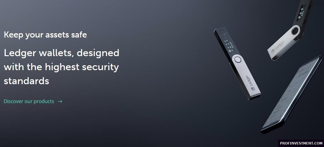 холодный кошелек для криптовалют Ledger