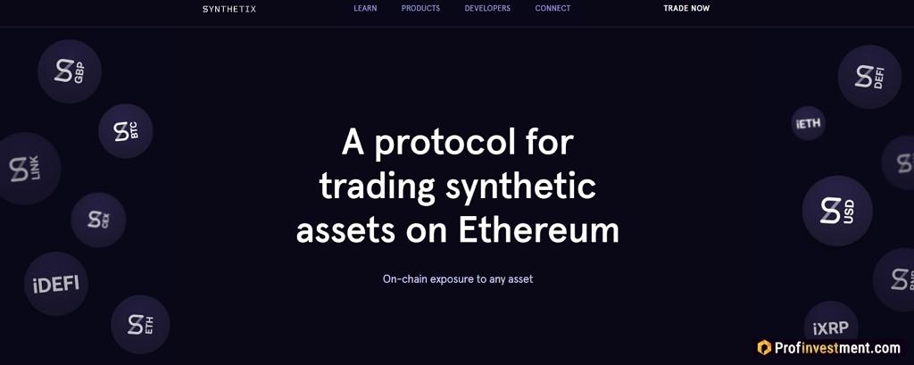 DeFi trading protocol Synthetix