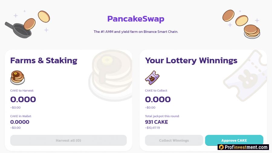 Cryptocurrency PancakeSwap (CAKE)
