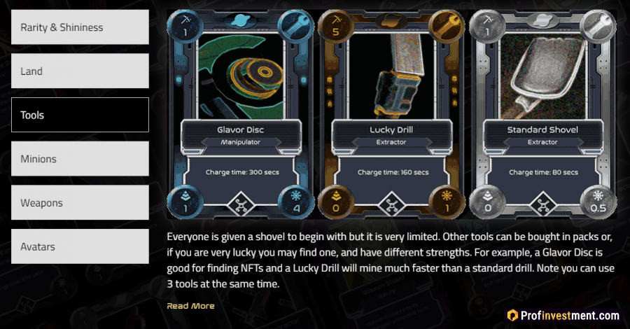 Из чего состоит платформа Alien Worlds