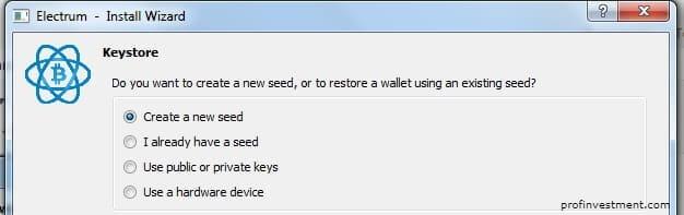 сит для хранения биткоинов