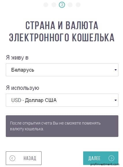 регистрация moneybooker выбор кошелька