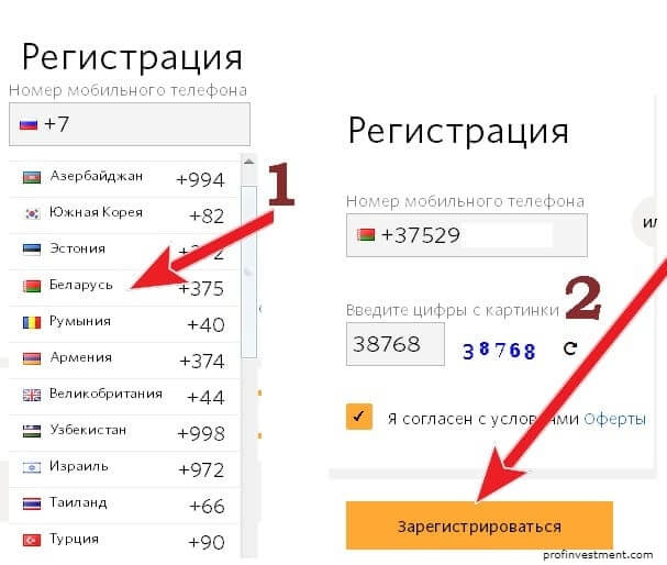 регистрация киви в Беларуси