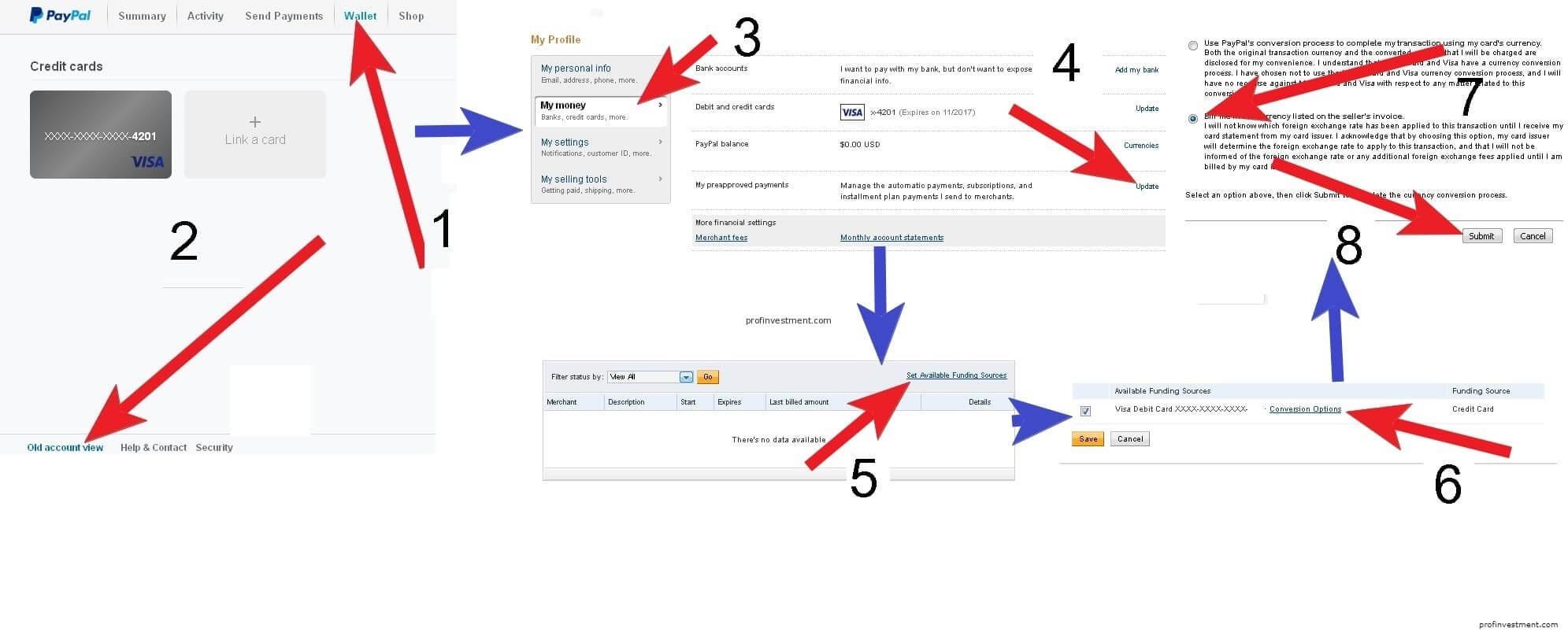 Регистрация на сайте платежной системы Paypal