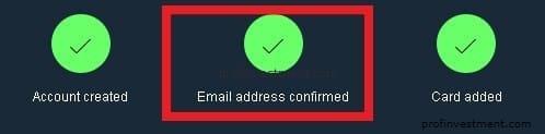 подтверждение аккаунта пайпал
