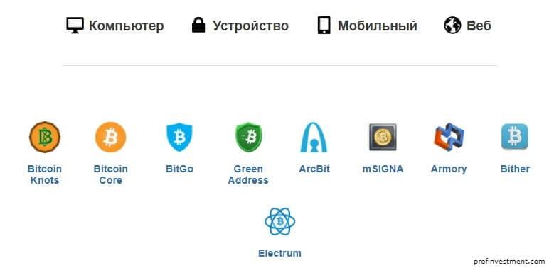 кошелек для криптовалюты bitcoin