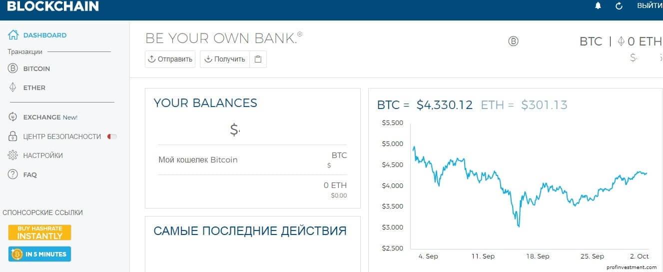 перевести криптовалюту биткоин с кошелька