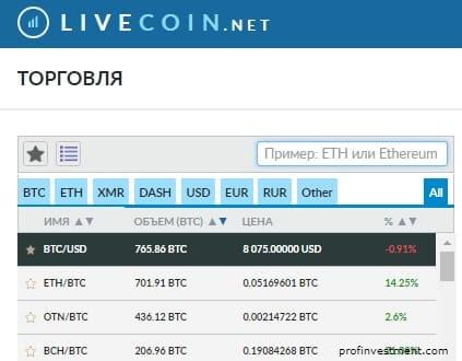 trade crypto coins