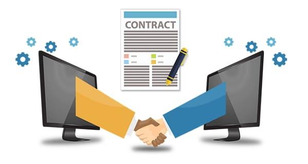 смарт контракт брокера блокчейн