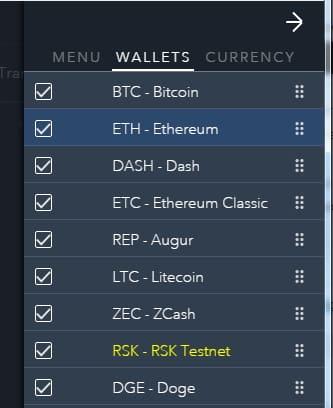jaxx для хранения z cash