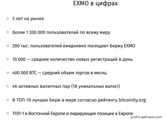 токен exmo биржи