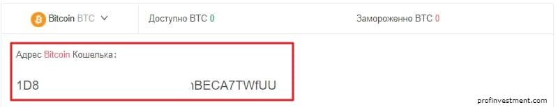 адрес кошелька криптовалютного