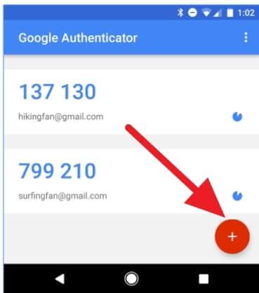 подключение google authenticator