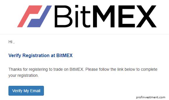 создать аккаунт на криптобирже битмекс