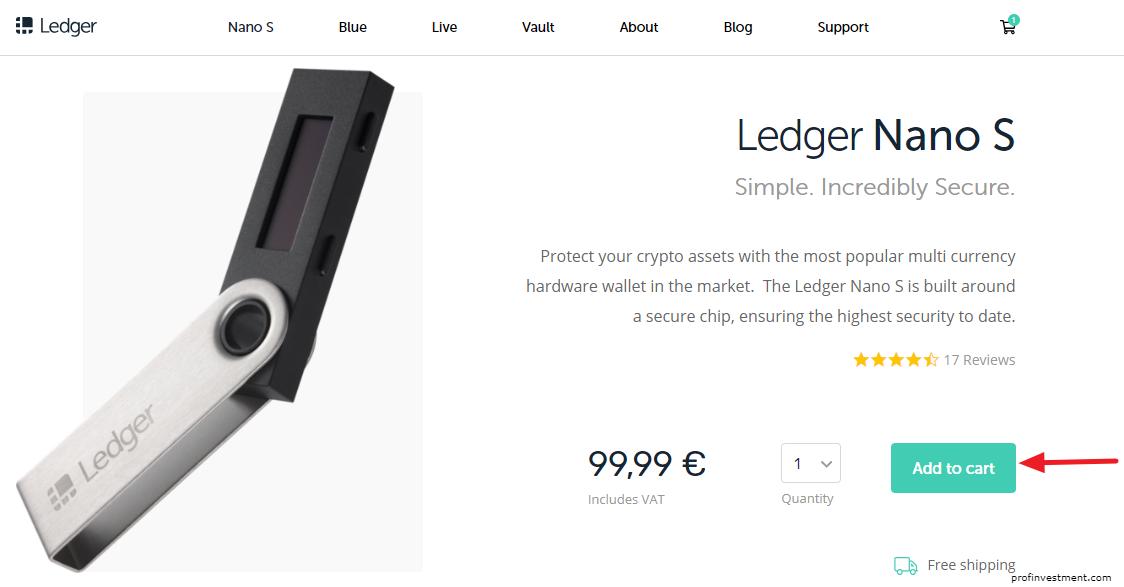покупка кошелька леджер на официальном сайте
