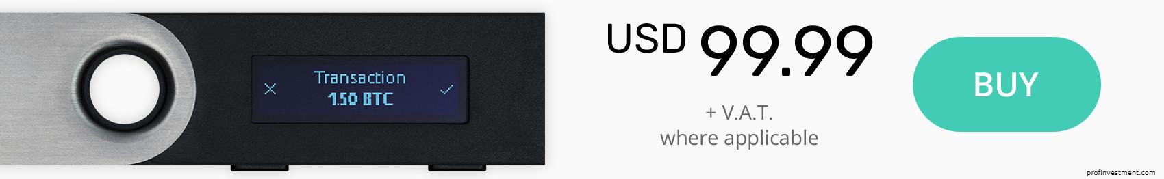 аппаратный кошелек для криптовалюты ledger