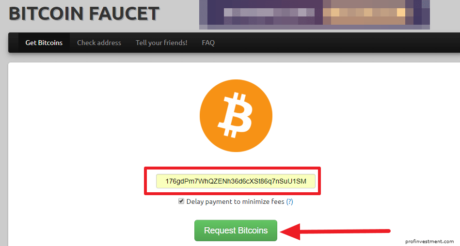 Биткоин кран Bitcoinfaucet