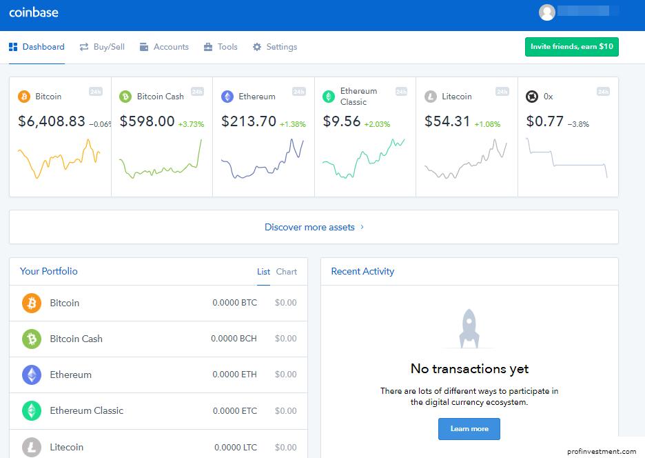 coinbase (коинбейс)