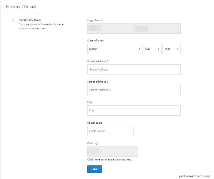 верификация аккаунта коинбейс