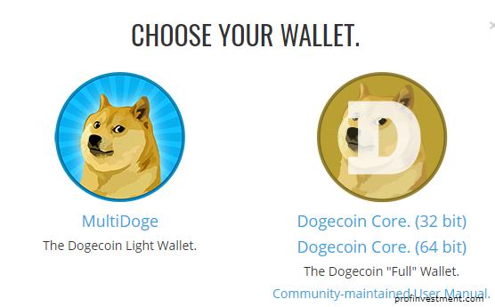 скачиваниеDogecoin Core