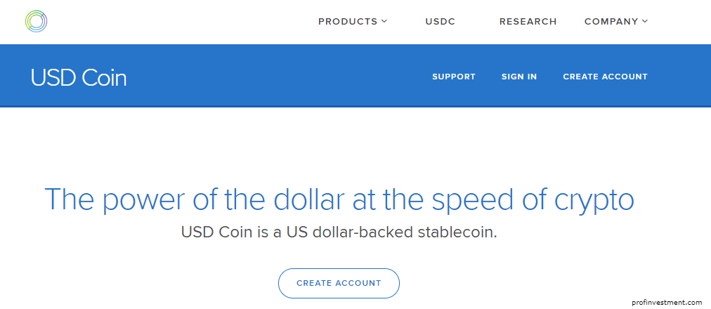 стейблкоин USD Coin (USDC)