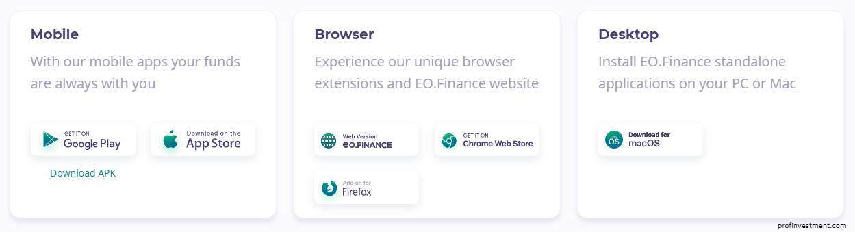 регистрация на сайте EO Finance
