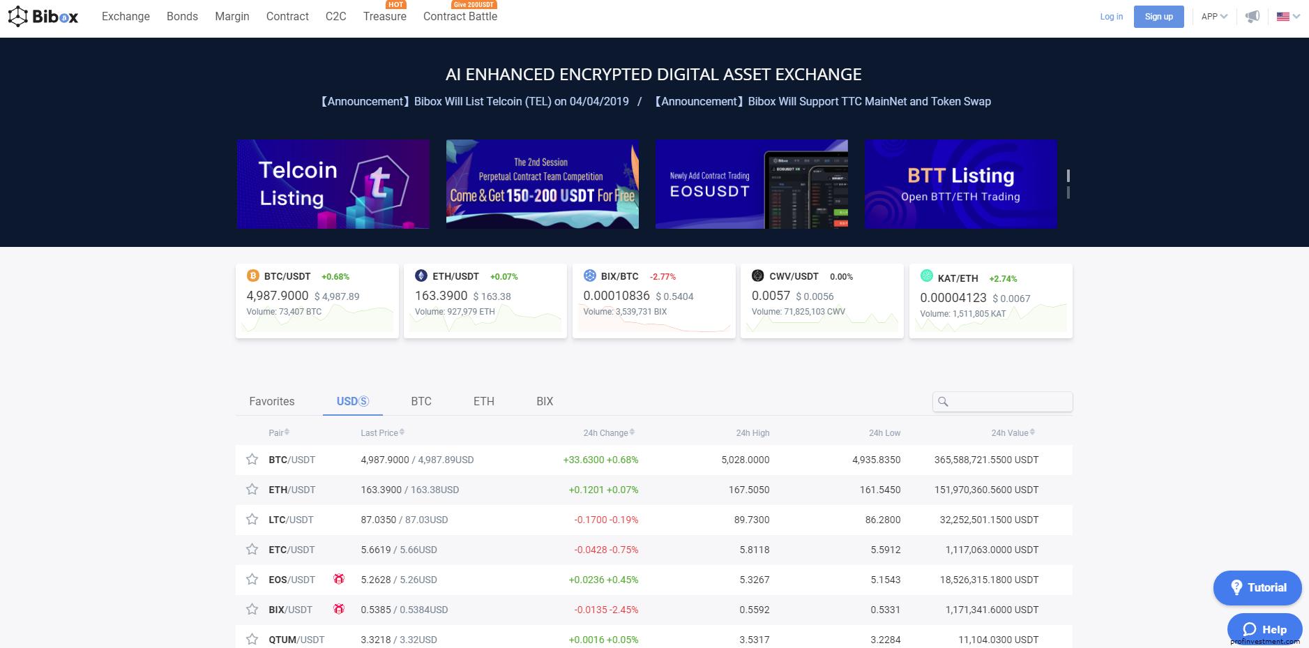 Bibox Orbit первичное биржевое предложение