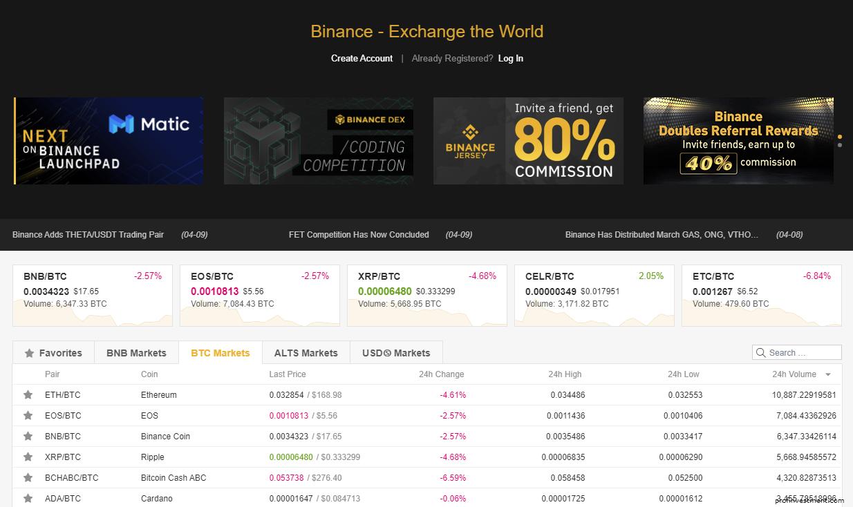 хранить криптовалюту на бирже Binance