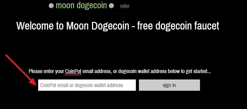 Moon Dogecoin