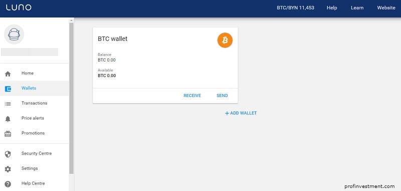 онлайн-кошелек luno для bitcoin