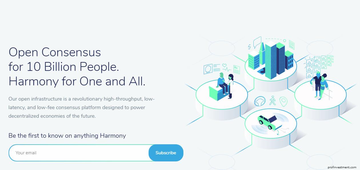Harmony криптовалюта Binance