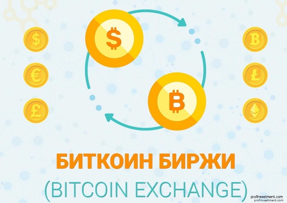биржи биткоин