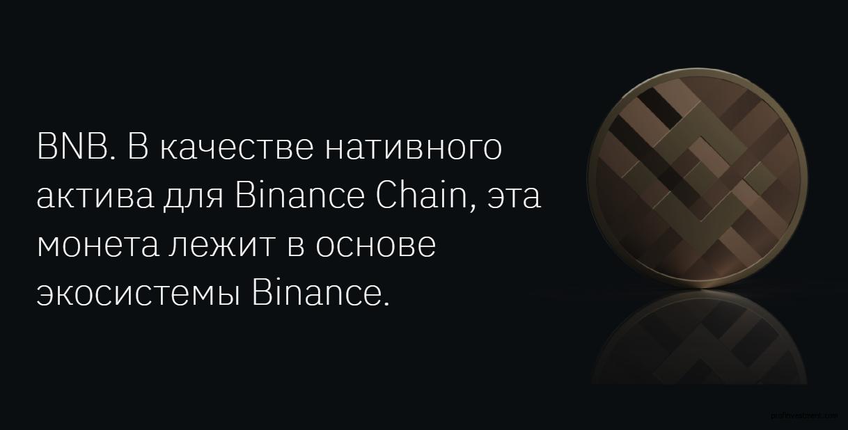 Биржевой токен Binance Coin