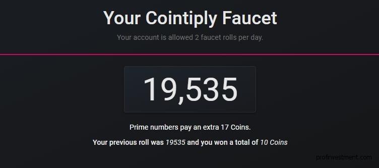 получение бесплатной криптовалюты